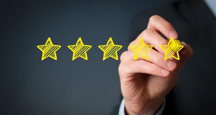 GotPrint Star Rating