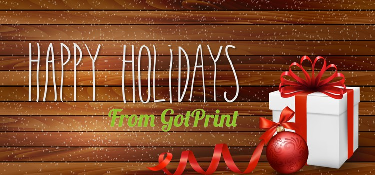 GotPrint Happy Holidays