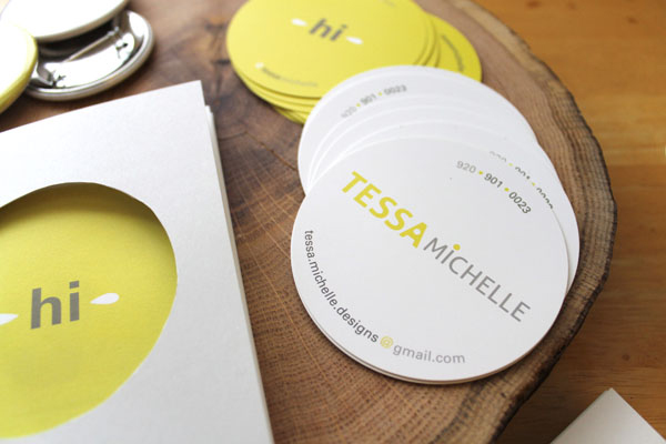 GotPrint circle business cards