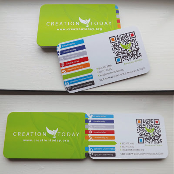 GotPrint rounded corners business cards