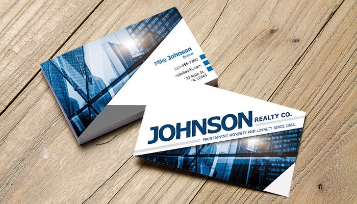 Free Real Estate Business Card Templates PSD PDF GotPrint Blog - Real estate business card template