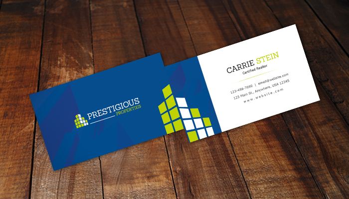 10 free real estate business card templates psd pdf for Got print business card template