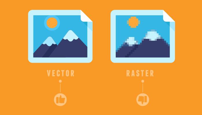 vector over raster