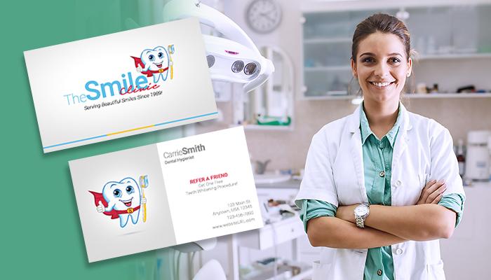 Pediatric Dentist Business Card