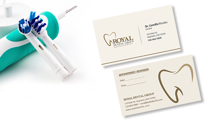 dentist business card design inspirations gotprint blog