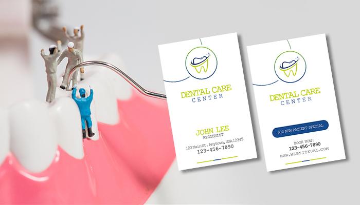 Hygienist Dental Business Card