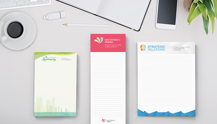 GotPrint Custom Notepads