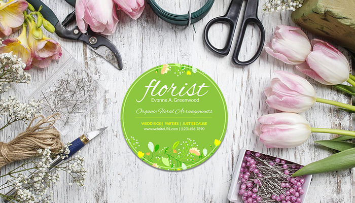 GotPrint Florist Business Cards