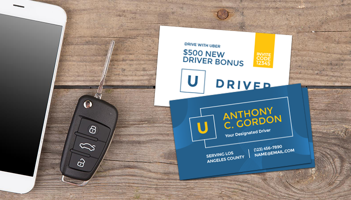 Why Uber & Lyft Drivers Need Business Cards – GotPrint Blog