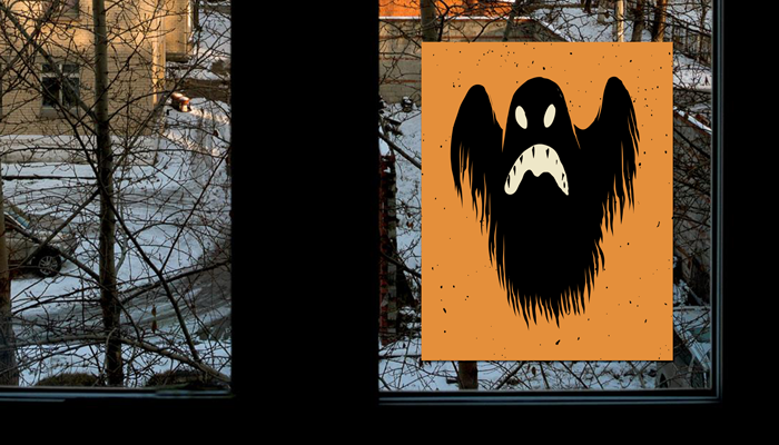 GotPrint Halloween Window Decals