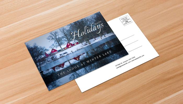 GotPrint Holiday Postcard