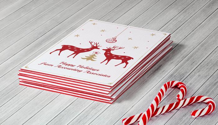 GotPrint Luxury Holiday Card