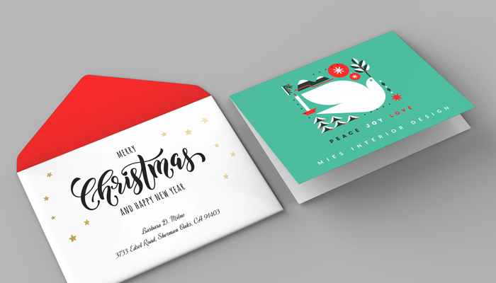 GotPrint Holiday Envelopes