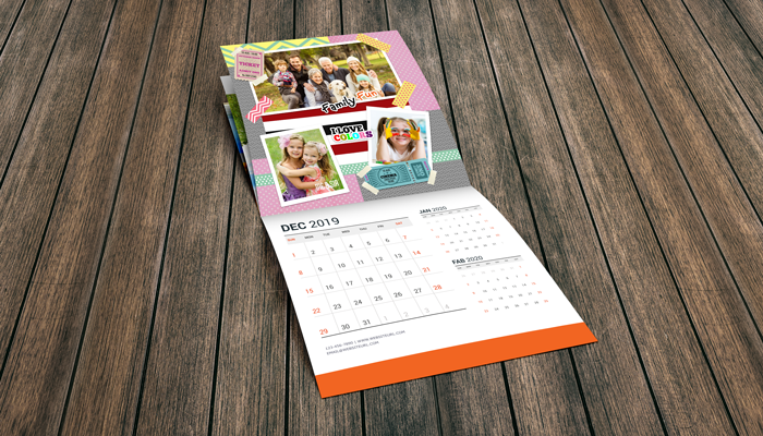 GotPrint Scrapbook Calendars