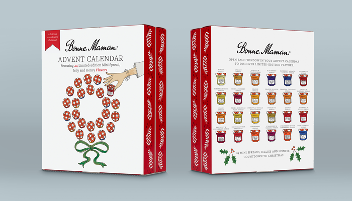 GotPrint Creative Packaging Ideas Bonne Maman Advent Calendar