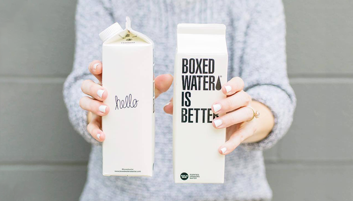 GotPrint Creative Packaging Ideas Boxed Water