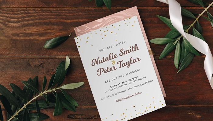 GotPrint Casual Wedding Invitations