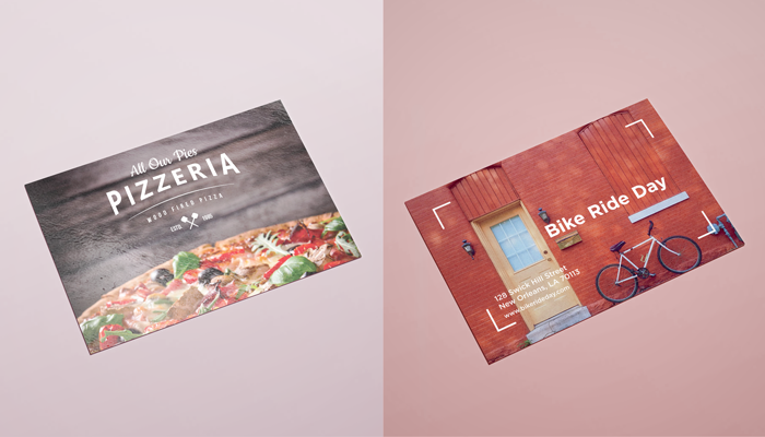 Matte vs. Glossy Postcards
