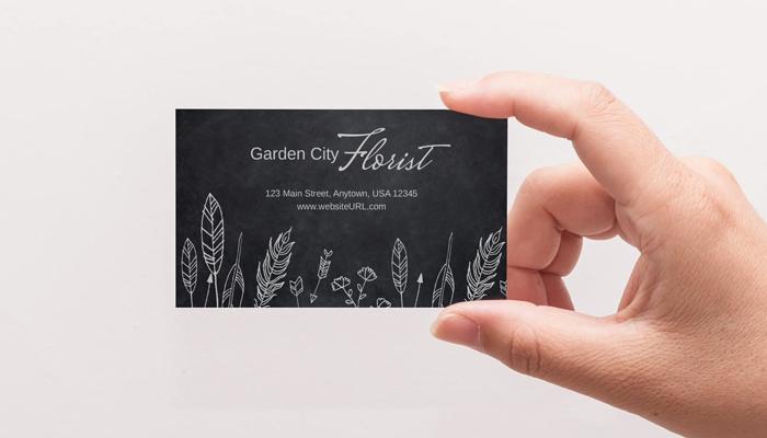 GotPrint Chalkboard Business Cards
