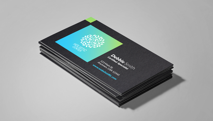 GotPrint Ultra Thick Black Business Cards