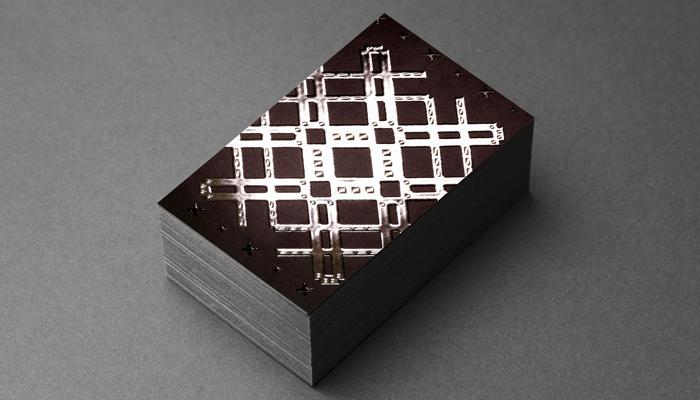 GotPrint Raised Foil Business Cards