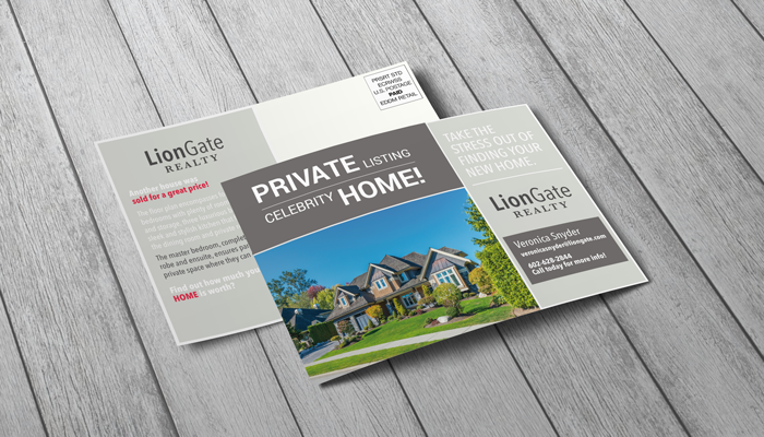 GotPrint Real Estate Postcards