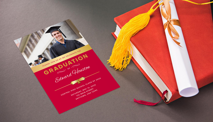 GotPrint Graduation Party Invitations