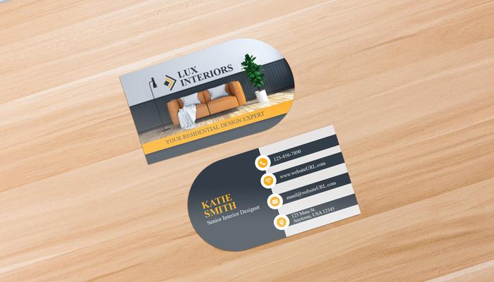 GotPrint Half Circle Business Cards